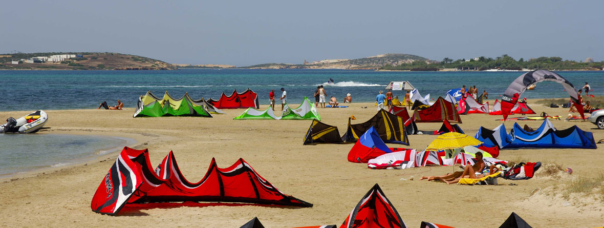 Kite surf in Paros