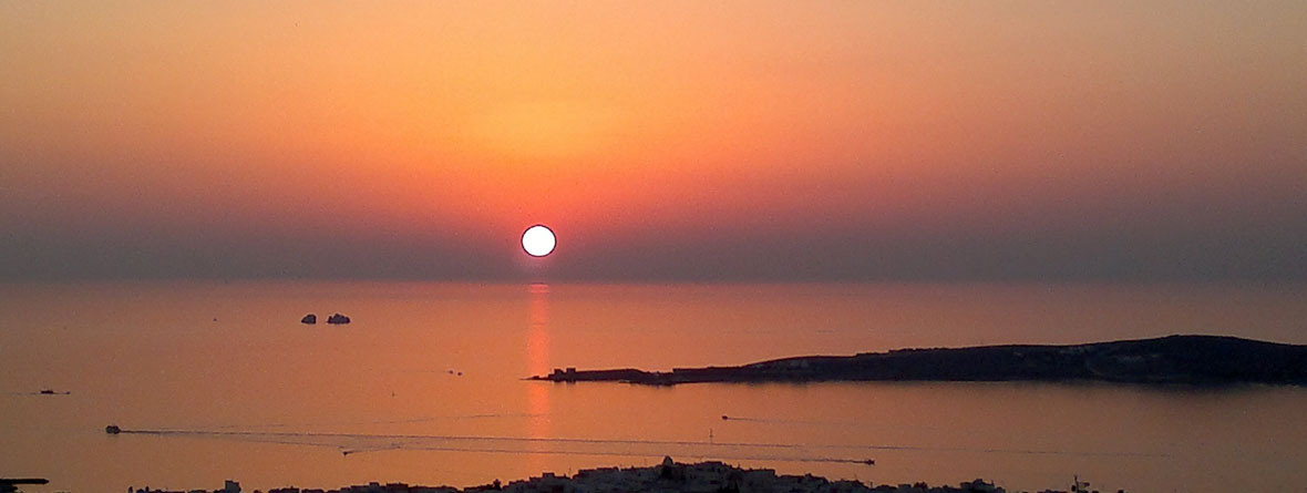 Sunrise in Paros